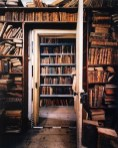 Old library packed with books