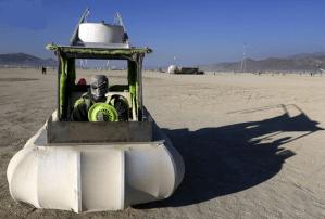Aliens at Burning Man 2013