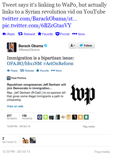 President Barrack Obama Twitter attack via Syrian Electronic Army
