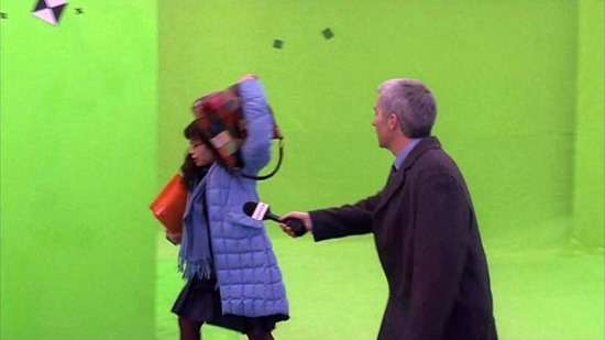 Green screen special effects