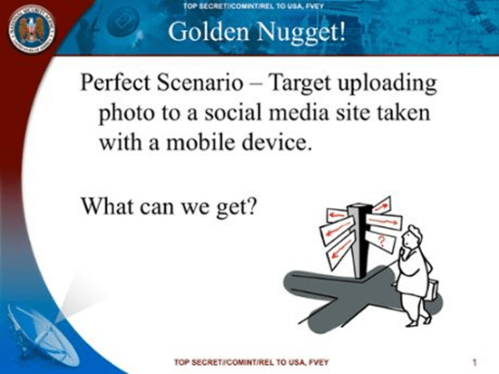 Slide from NSA presentation