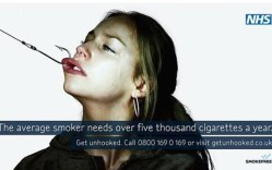 We'll give 'em credit - this disturbing NHS anti-smoking ad gets your attention