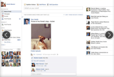 2011 - the Ticker arrives on Facebook