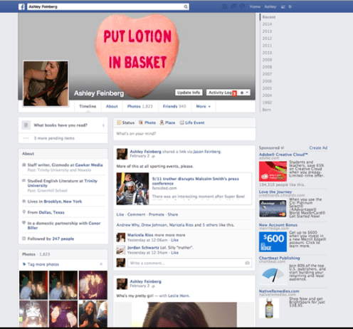 2013 - Facebook