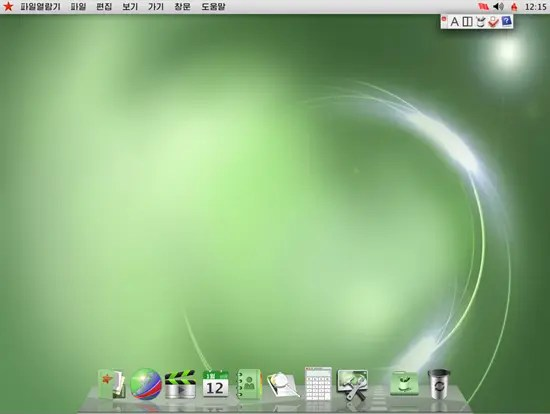 Red Star 3.0 desktop resembled Apple OS X