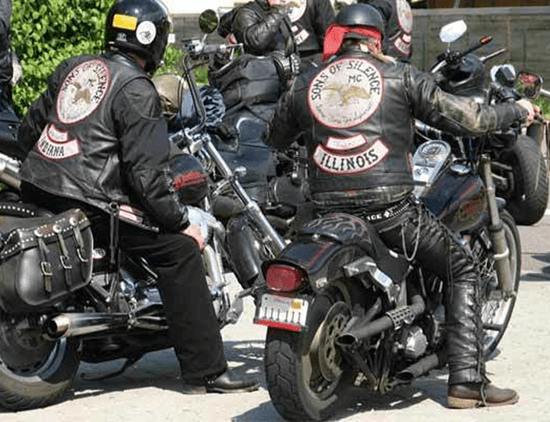 The Sons of Silence motorcycle club (MC)