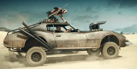 Mad Max: Fury Road Buggy built from a Perentti was an Australian sports car modelled after American muscle cars yet given a fiberglass body