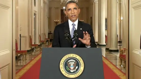 Obama's address to the nation - Is the US government attempting to calm the public or instill more fear?
