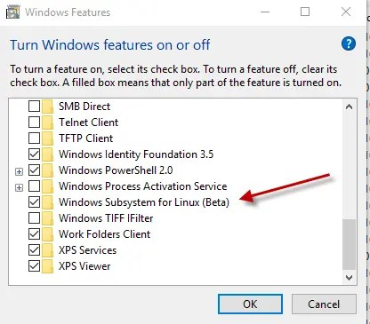 Windows Subsystem for Linux (WSL) – how to create a Linux