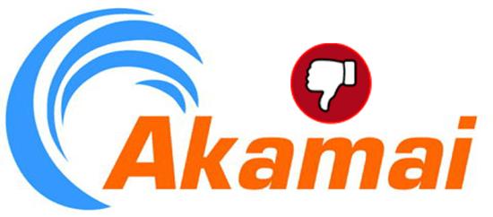 Akamai thumbs down