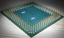 FC-PGA - Flip-chip Pin Grid Array package