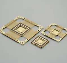 CQFP - Ceramic Quad Flat-Pack package
