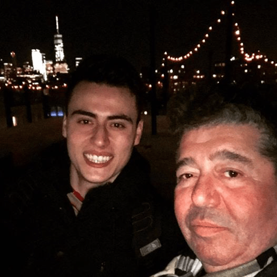 Chilly rooftop of Soho House with Josu Aritza Ramirez - courtesy Rob Goldstone