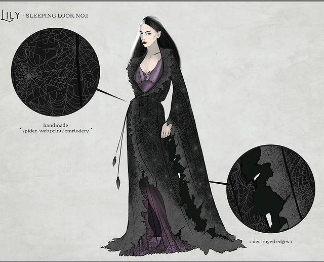 Lily Munster costume design