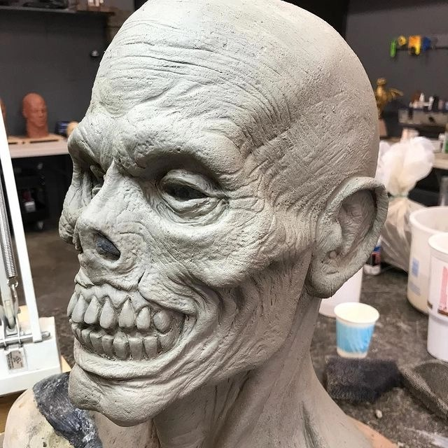 Special effects from Munsters movie scary
