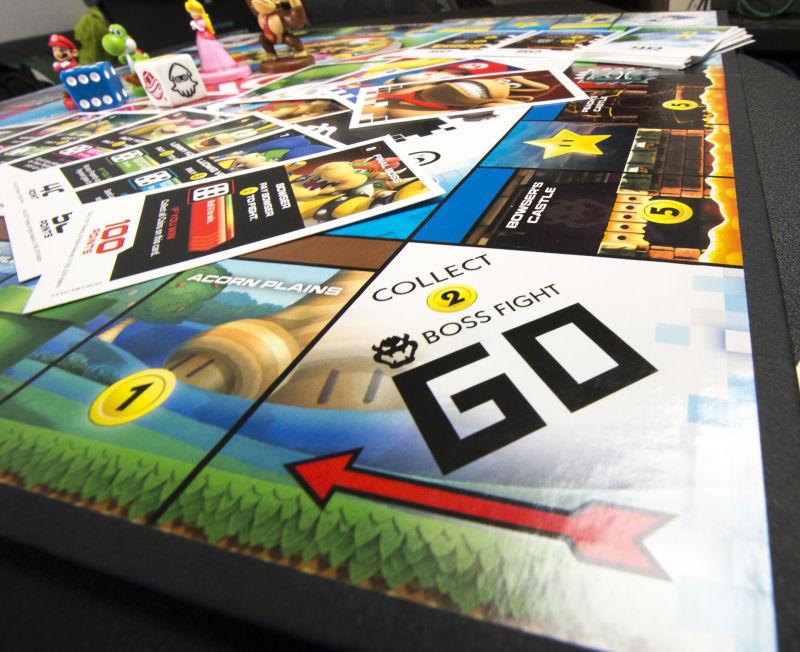 Casilla inicial de Monopoly Gamer