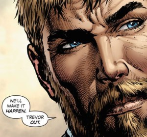 Steve Trevor en los cómics