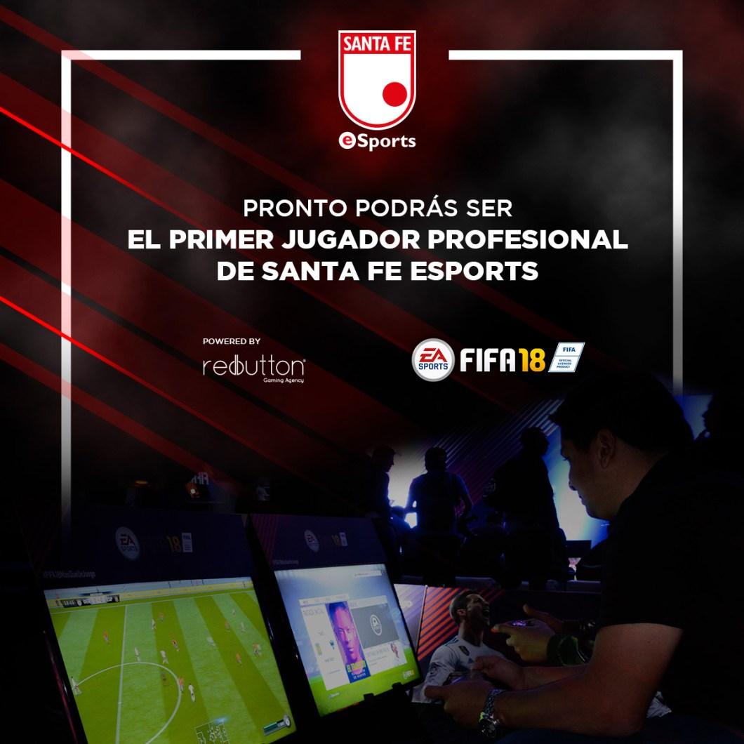 Independiente Santa Fe será el primer equipo colombiano con una división eSports