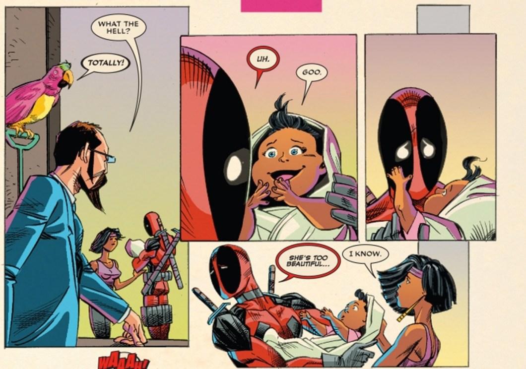Deadpool Meets Ellie