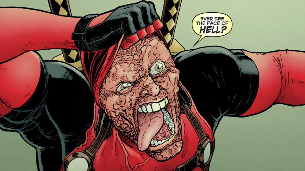 Deadpool Without Mask
