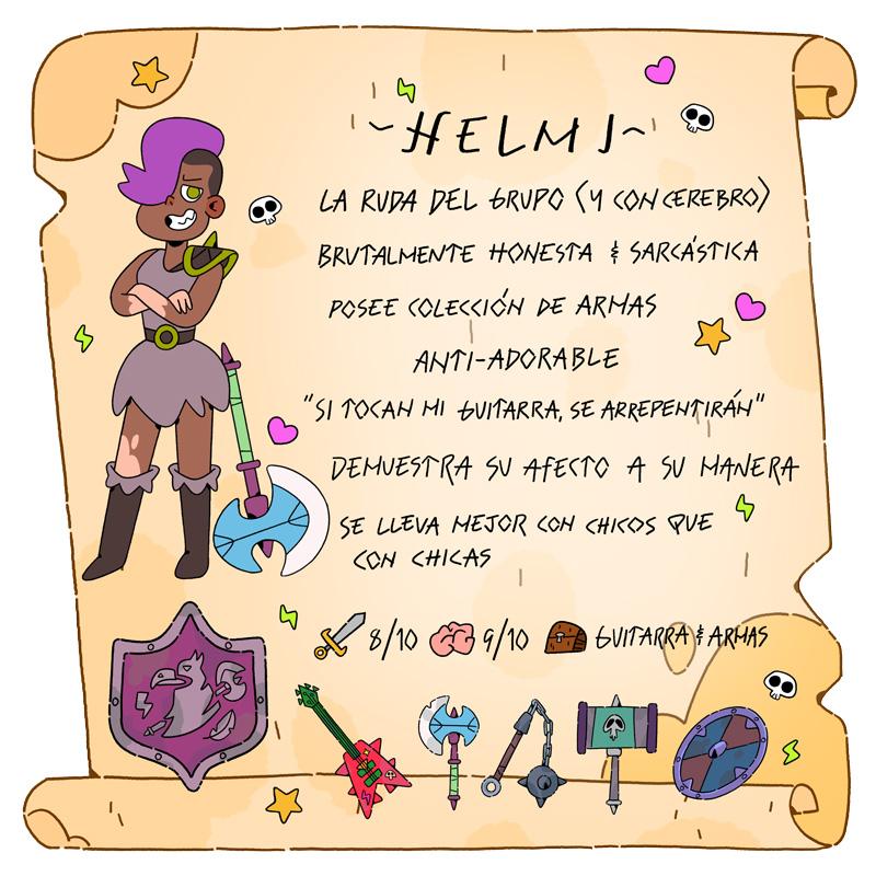Helmi - Vikingos - Cartoon Network