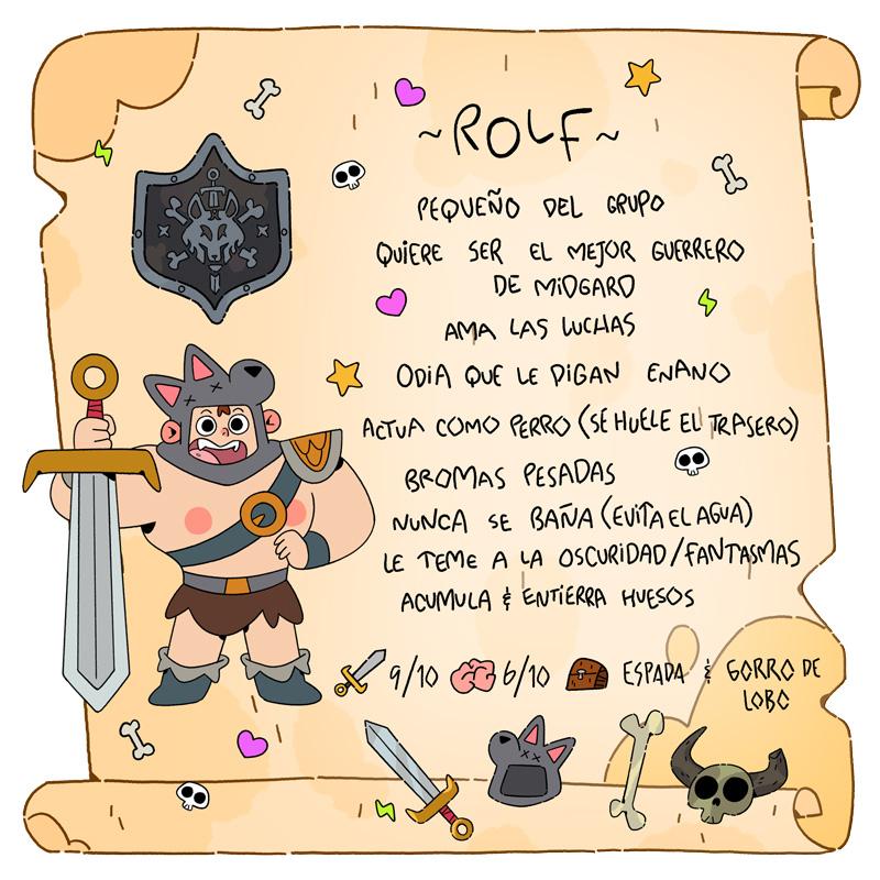 Rolf - Vikingos - Cartoon Network