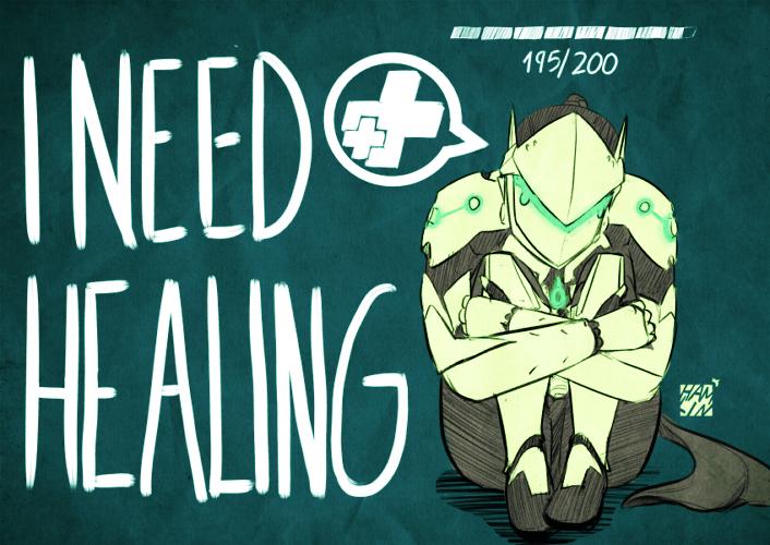 Genji de Overwatch - I Need Healing