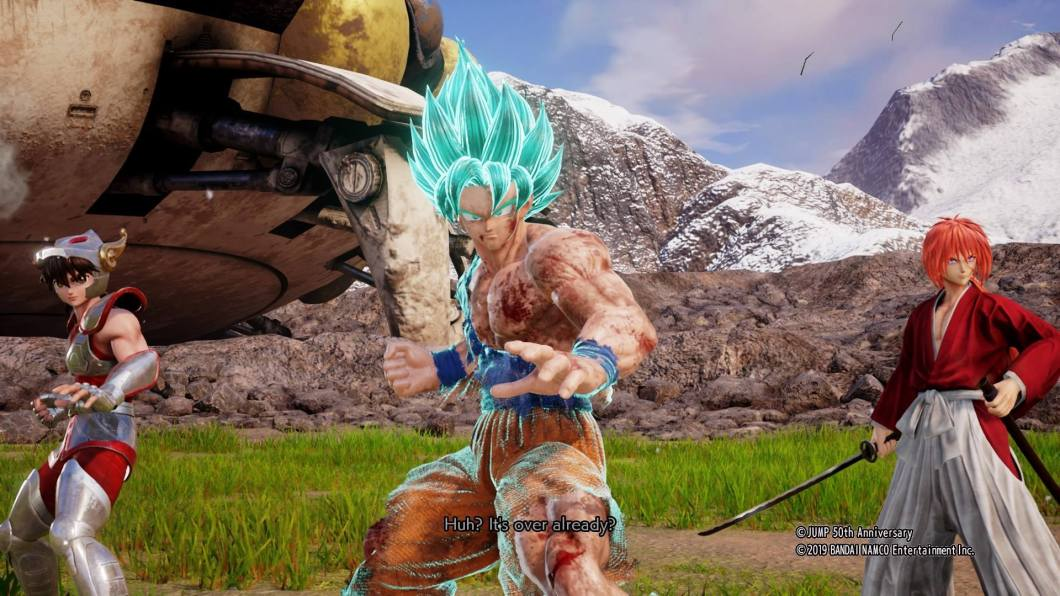 Reseña Jump Force