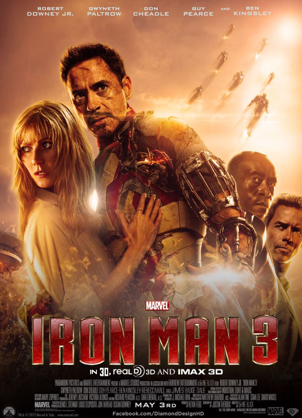 Iron Man 3 - Marvel MCU Fase 2