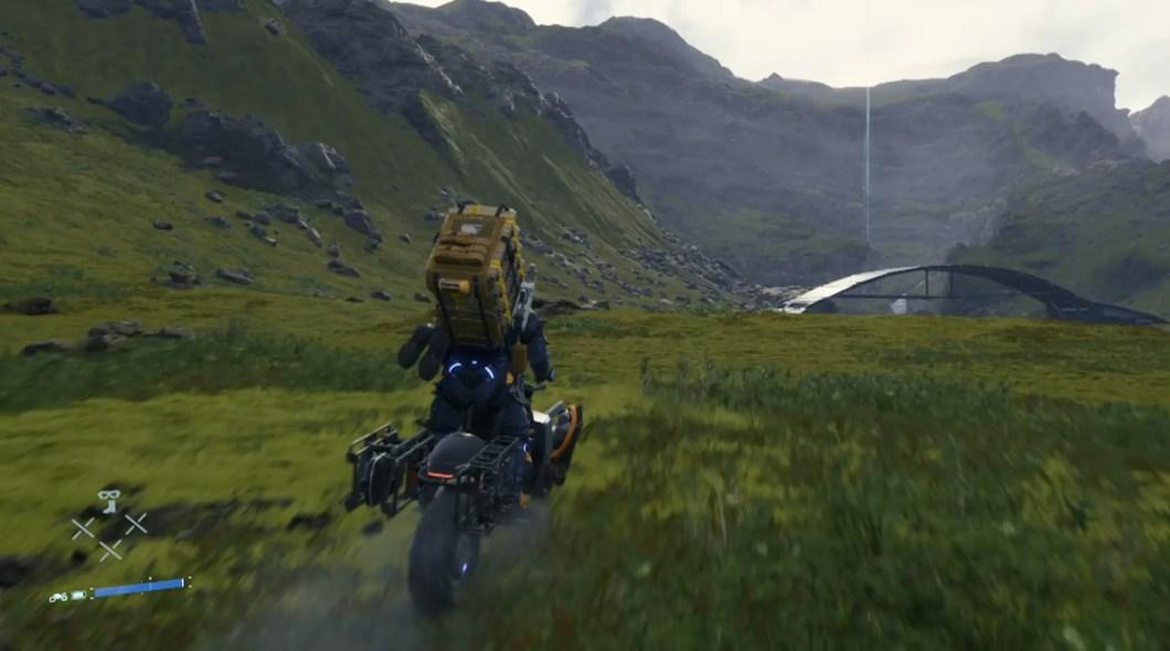 Death Stranding - Motorcycle