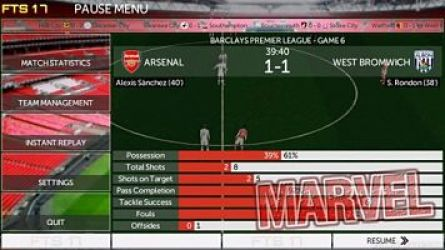 First Touch Soccer 2017 | FTS 17 apk and data