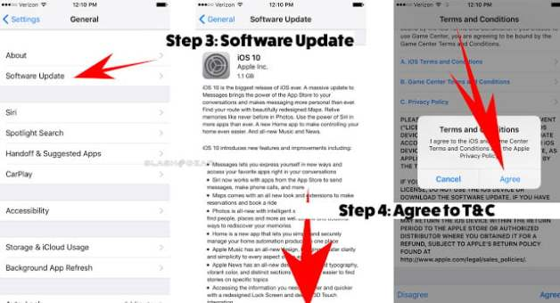 how to upgrade to ios 10