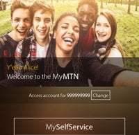 MyMTN self service App