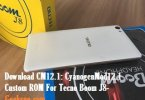 CyanogenMod12.1 for tecno boom j8