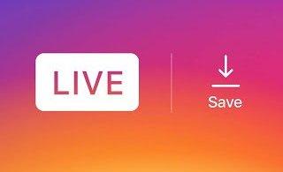 Save LIVE Instagram Videos