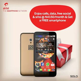 How To Get SOLO ASPIRE M Smartphone Free From Airtel