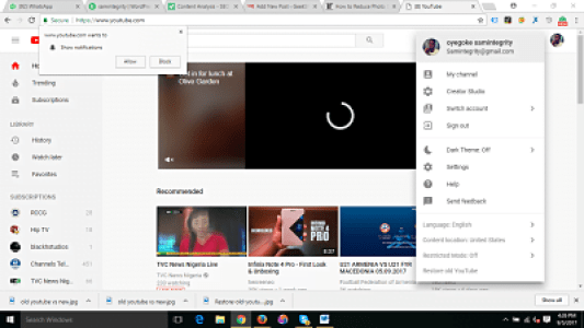 Restore Old YouTube Layout