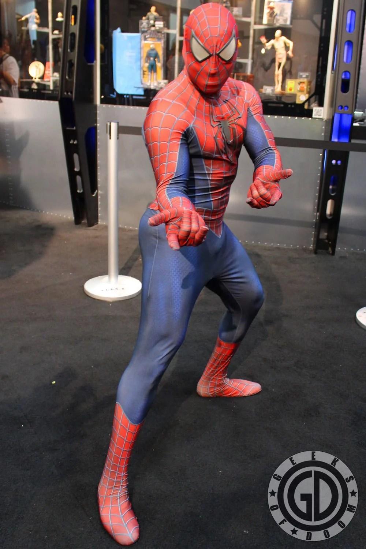 SDCC 2012 Cosplay Round Up Spider Man