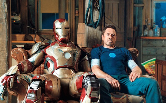 Iron Man is besides himself in confusion about who is supposed to the villain.