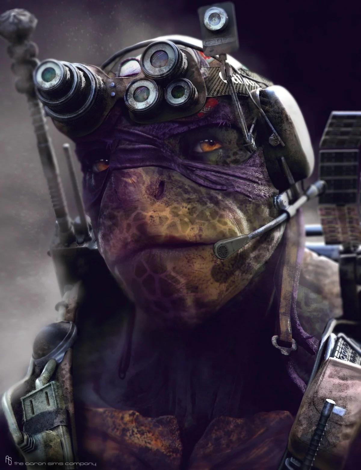 Teenage Mutant Ninja Turtles Concept Art