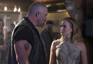 """DC's Legends of Tomorrow --""""Pilot, Part 1"""" -- Image LGN101c_0105b -- Pictured: Caity Lotz as Sara Lance/White Canary -- Photo: Jeff Weddell/The CW -- © 2015 The CW Network, LLC. All Rights Reserved."""