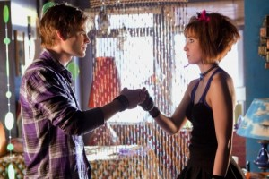 """Idol"" -- David Gallagher as Zan and Allison Scagliotti as Jayna in SMALLVILLE, on The CW Network. Photo: Jack Rowand/The CW ©2009 The CW Network, LLC. All Rights Reserved."
