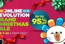 Lazada PH Grand Christmas Sale 2016
