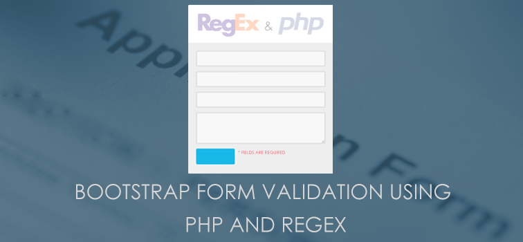 Bootstrap Form Validation Using PHP And RegEx | Geeks Trick