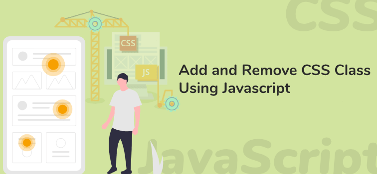 Add and Remove CSS Class Using Javascript