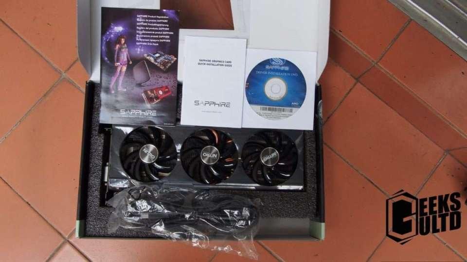 Content in Sapphire R9 390 Tri-X Graphics Card