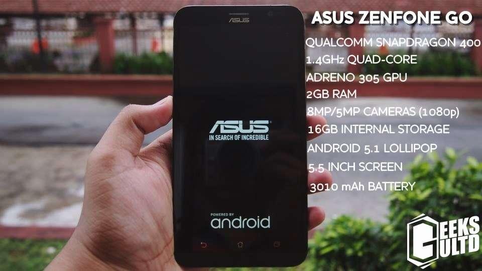 Asus Zenfone Go ZB551KL Specifications/Specs