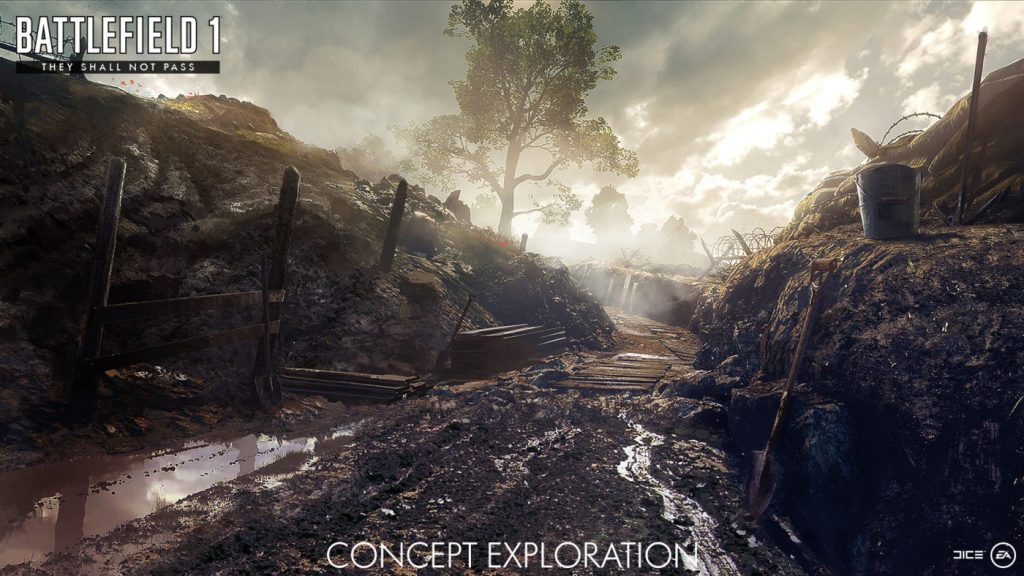 "Battlefield 1's First DLC ""They Shall Not Pass"" Getting Revealed Next Week; Teaser Trailer is Out"