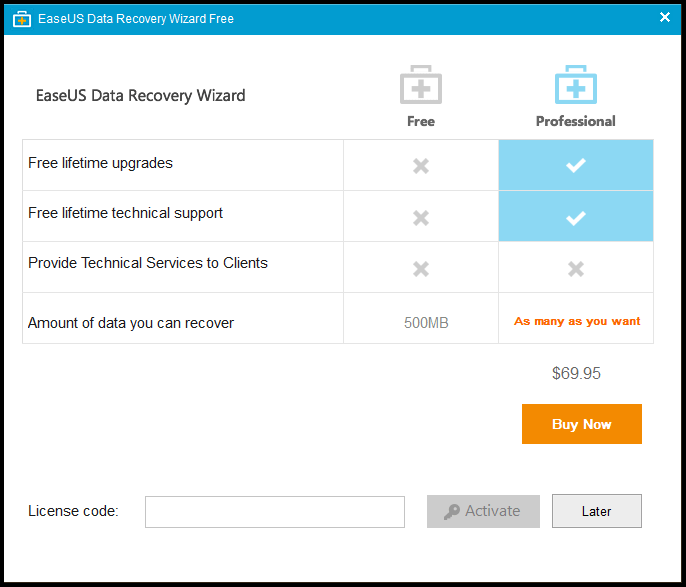 EaseUS Data Recovery Wizard FREE Version Review - 2016